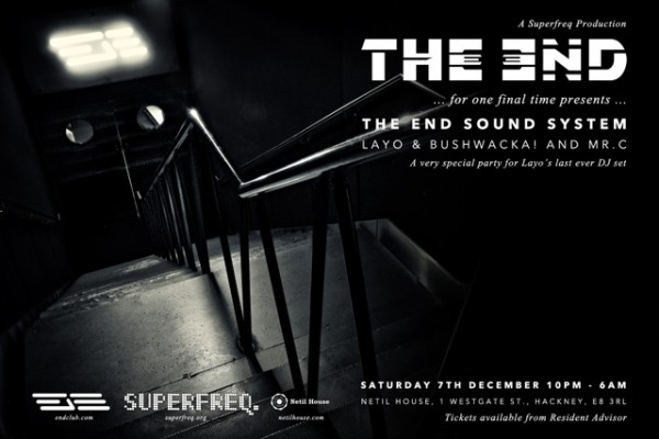 THE END: SUPERFEQ WAREHOUSE PARTY