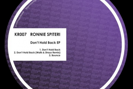 STREAM: Ronnie Spiteri – Don't Hold Back EP